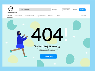 404! Error not found 404 designs figmadesign designer app figma graphic branding design icon dailyui