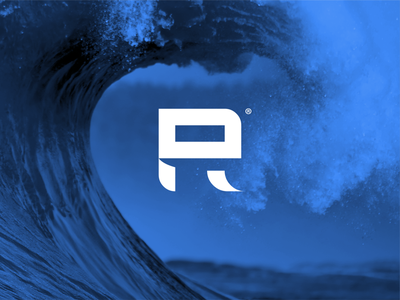 SURF Logo Concept graphic design r logo logo mark wave surf logo surf company surfing surf logo designer logo design logo