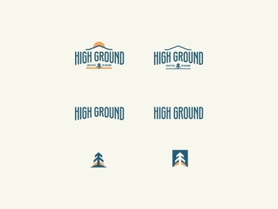 Responsive High GroundLogo Design tree tree logo high ground creative studio logo responsive logo logo logo designer logo design