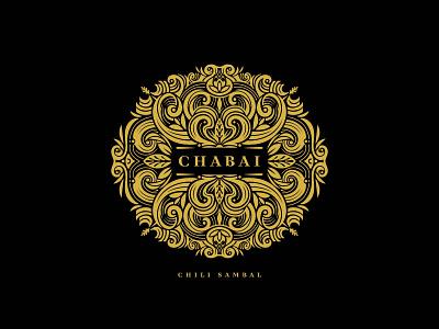 Logo Design for Chabai Chili Sambal branding graphic design illustration mandala chili packaging logo sambal logo design