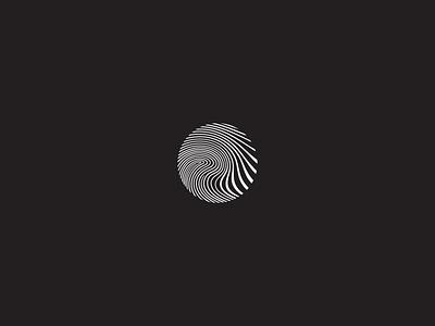 Logo Design for Tidal Chalk modern logo fingerprint logodesign logo rockcliming climing chalk