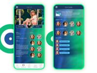 Prezence Social Chat App UI Design