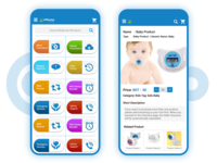 Pharmaceutical eCommerce Apps UI Design