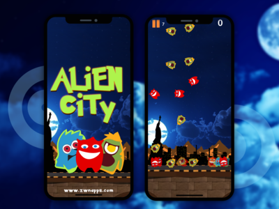 Alien City 2d Games
