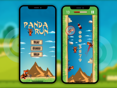 Panda Run - 2d Games Design