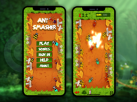 Ant Smasher 2d Games