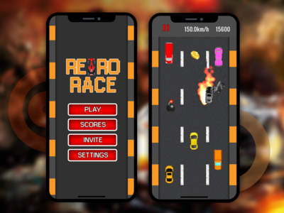 Retro Race Mobile Games