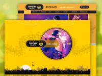 Radio Website UI/UX Design