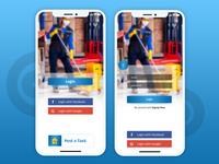 Task Apps Login UI