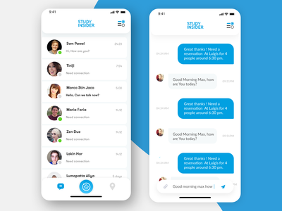 Chat Application UI Design