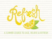 Refresh logo bkgd