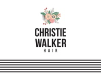 Christie Walker Hair Logo Design