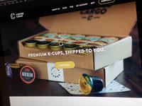 Coffe Cargo – Website