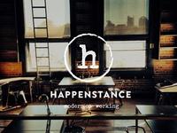 Happenstance Co-working Logo