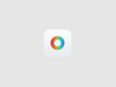 gram'n design app camera minimal flat stupid rainbow color identity icon brand instagram