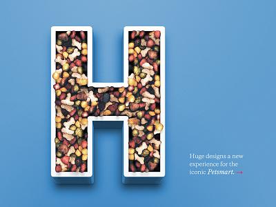 "Petsmart ""H"" home cover manipulation render 3d photo h food pet"