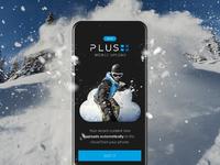 Mobile upload static snow