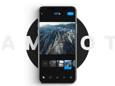 Stories Now In the GoPro App auto ux app gopro editing story ui design