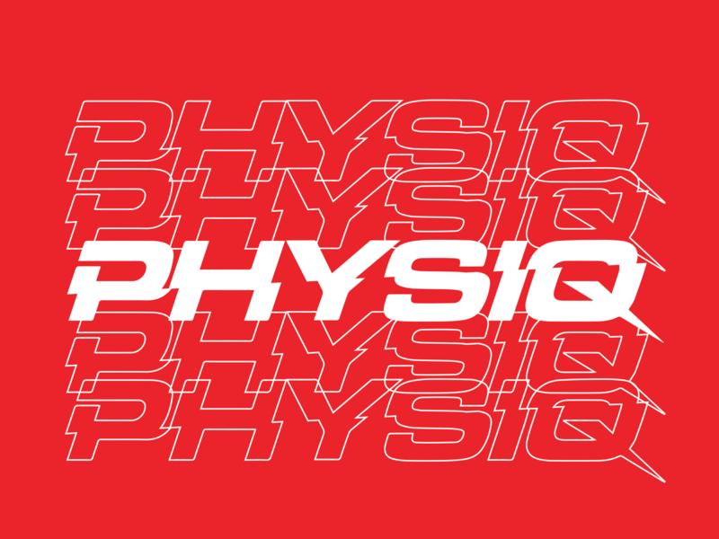 Physiq Shirt 2 uk fitness gym crossfit wordmark illustration branding swtldesignco swtl