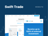 Swift Trade. Behance project