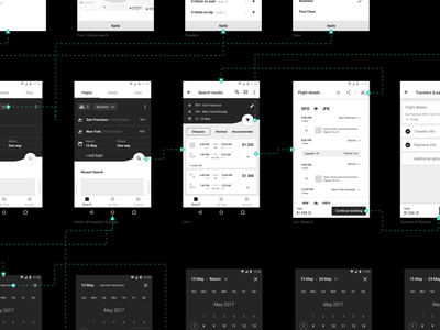 CheapOair. Wireframes overflow wireframes search payment details filters booking flights concept travel