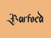 Barfoed