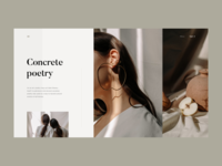 Concrete Poetry, Microsite
