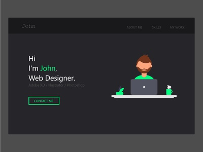 Web Design profile web design