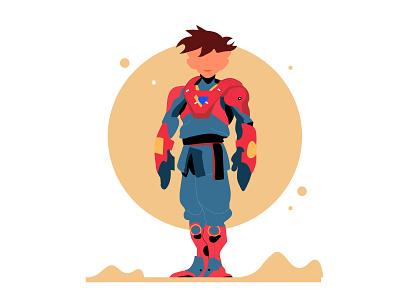 Galatic boy illustration