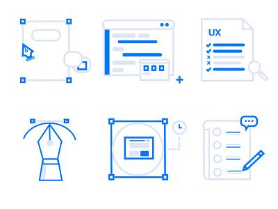 Icons designs icon ux illustration