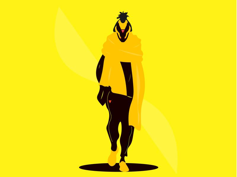 Simple future design illustration
