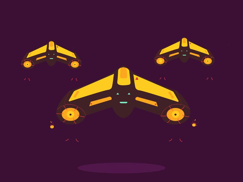 Drone Future illustration