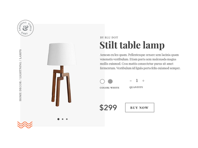 DailyUI Challenge 012 - Ecommerce item