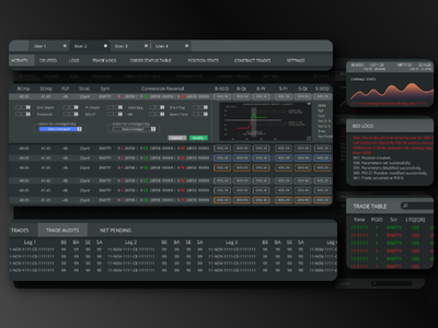 Trading Software UI trading software professional design uix uiux invitation invite xddesign software trading