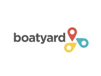 Logo for a air BnB for boats.