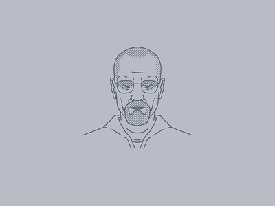Tribute portraits: Walter White