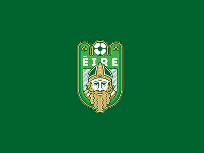 Èire - Logo redesign ireland badge branding icon artwork design vector logo illustration flat graphicdesign icon