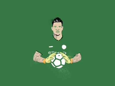 Ederson Morales - Goalkeeper portrait