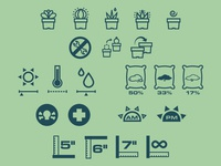 [WIP] Succulent Care Icons