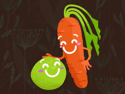 Like Peas & Carrots