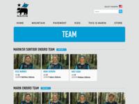 Marin Bikes Teams