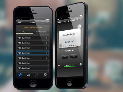 Mobile preview mobile app transparent language mockup