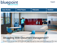 Re-design for Bluepoint Solutions