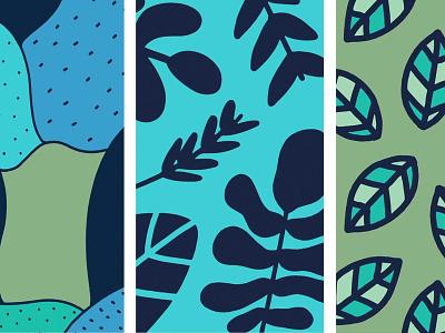 Skullcandy patterns leaves nature plants pattern design pattern