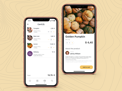Online local market delivery app app design app clear ui uidesign
