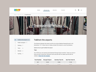 Kyiv official travel website official travel website ux design reserch ux uidesign