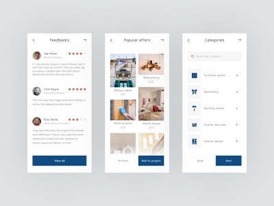 Interior design app interiordesign app design app clear ui uidesign