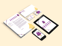 Nebula Candle Company - Print Collateral