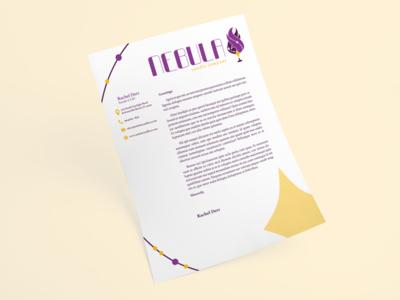 Nebula Candle Company - Letterhead
