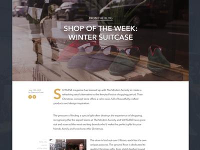 Shop Blog  shop up pop website post blog